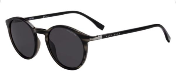 Hugo Boss moška sončna očala, okrogla oblika. Optika Zajec