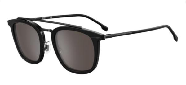 Sončna očala Hugo Boss moška, pilot, črna barva. Optika Zajec
