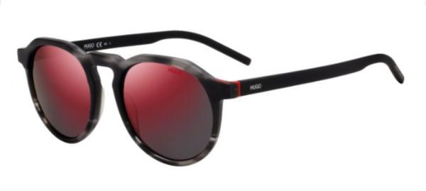 Sončna očala znamke Hugo, moška in okrogle oblike. Optika Zajec