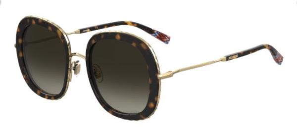 Ženska kovinska sončna očala MISSONI. Super ponudba na: optika Zajec
