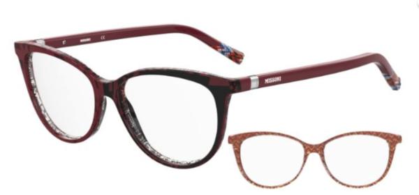 Ženska dioptrijska očala MISSONI mačje oblike. Nakupuj na: optika Zajec