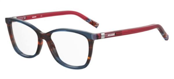 Ženska dioptrijska očala MISSONI oglate oblike, optika Zajec