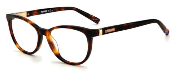Ženska dioptrijska očala MISSONI panto optika Zajec