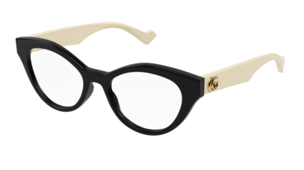 Korekcijska očala Gucci mačje oblike, Optika Zajec.