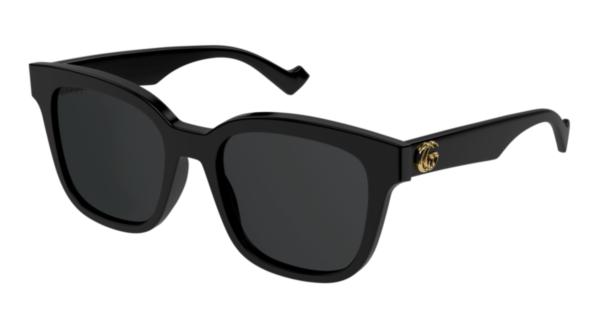 Modna sončna očala Gucci za ženske, črne barve in oglate oblike na optika Zajec