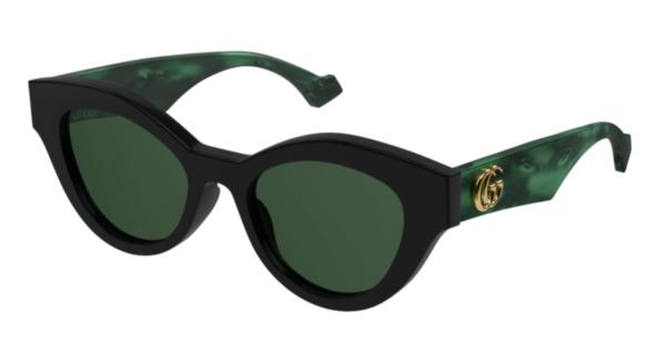Ženska sončna očala Gucci zelene barve naroči na optika Zajec