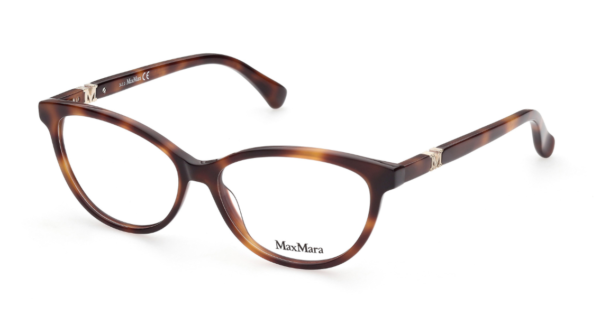 Ženska korekcijska očala MAXMARA havana stil in rjava barva, otika Zajec.