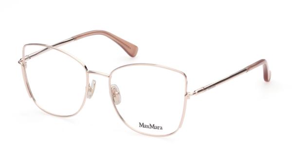 Ženska korekcijska očala MAXMARA, kovina in butterfly oblika, optika Zajec.