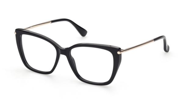 Ženska korekcijska očala MAXMARA črna plastika Optika Zajec