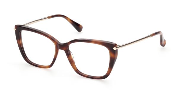 Ženska korekcijska očala MAXMARA, oglata oblika rjave barve, Optika Zajec