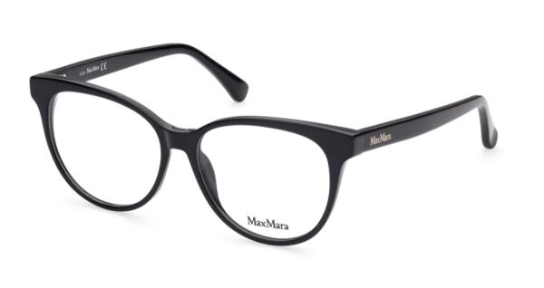 Ženska korekcijska očala MAXMARA s plastičnimi okvirji črne barve, Optika Zajec.
