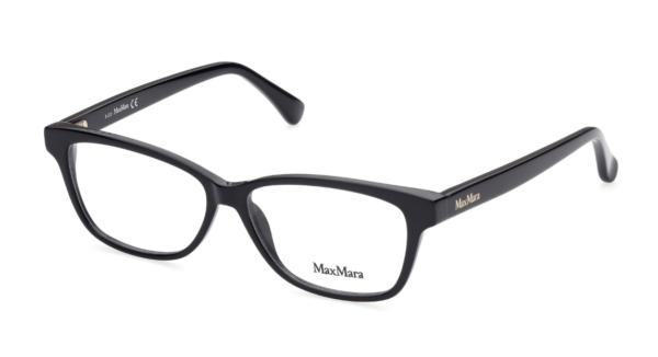 Ženska korekcijska očala MAXMARA pravokotne oblike in s plastičnimi okvirji optika Zajec