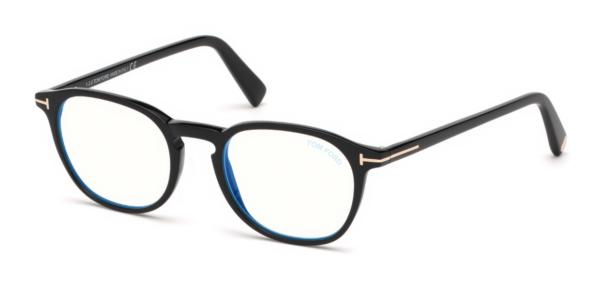 Korekcijska očala Tom Ford unisex plastični okvirji optika Zajec