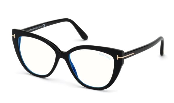 Ženska korekcijska očala Tom Ford s plastičnimi okvirji, Optika Zajec